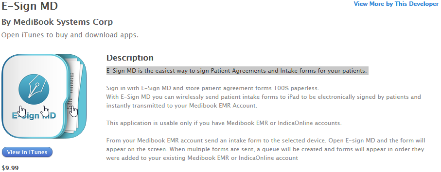 E-Sign MD for paperless patient agreement and intake forms ...
